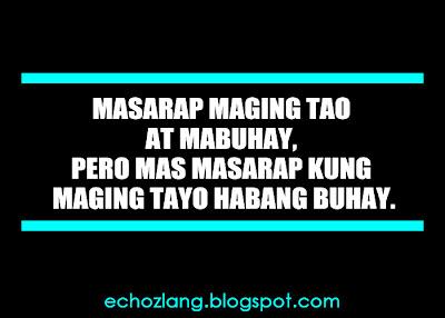 Pero mas masarap kung maging tayo habang buhay.