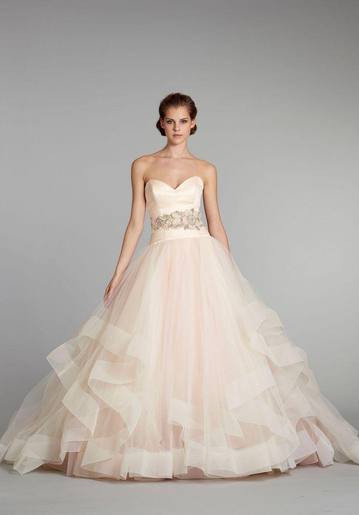 Dawn J\'s fashion wedding gown: Wedding Dresses from Lazaro
