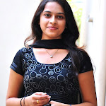 Sri Divya in Black Churidar Spicy Photoshoot