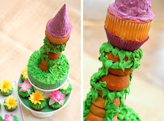 Rapunzel Tangled Tower Cake Topper