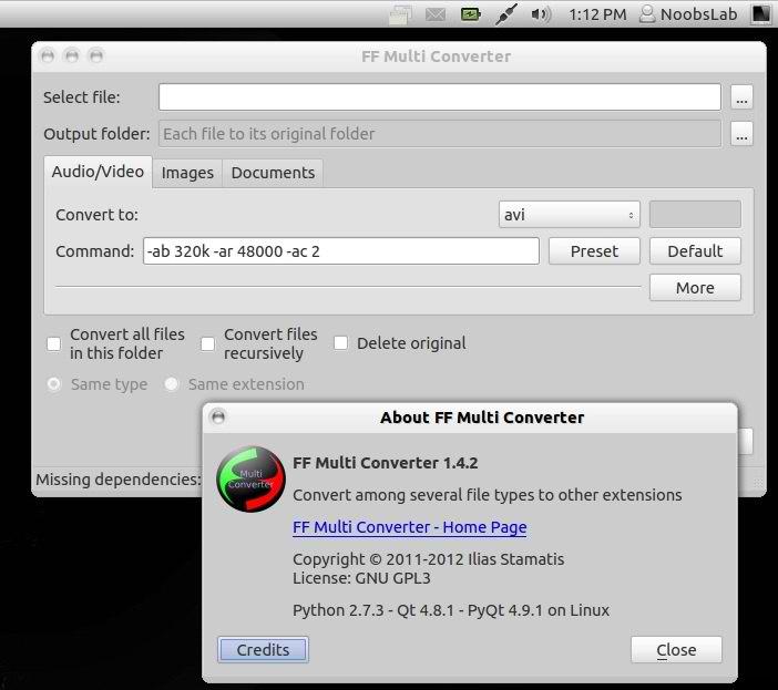 ffmulti converter