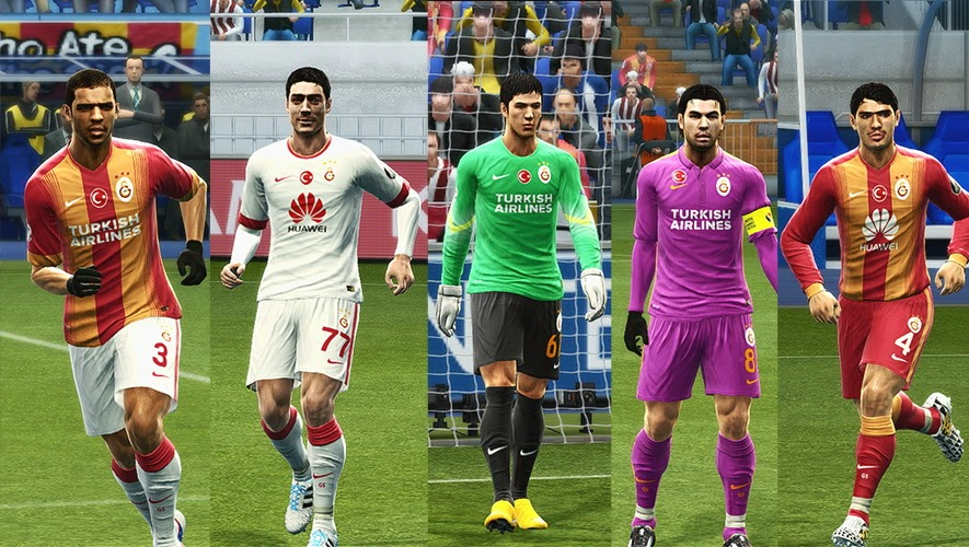 PES 2013 Galatasaray GDB 2014-15 by Vulcanzero