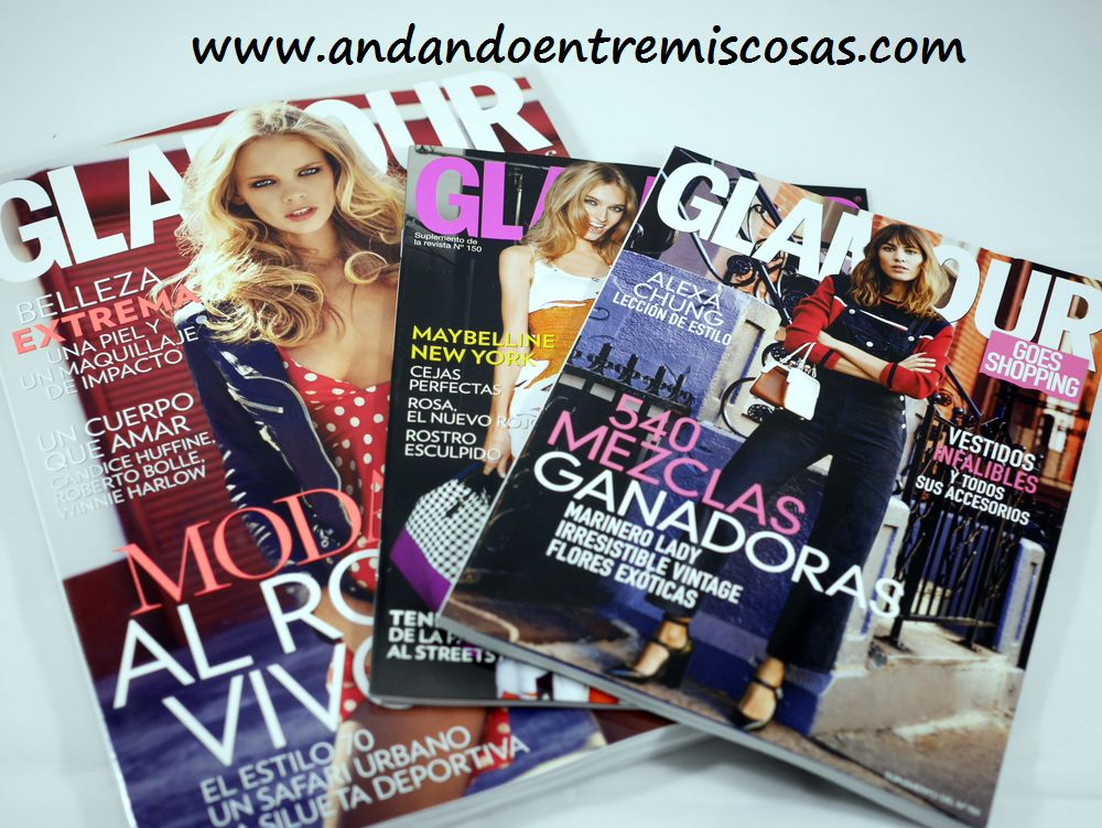 Revista Glamour Abril 2015