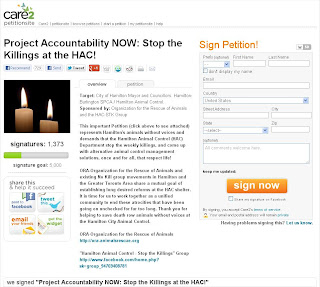 Project Accountability NOW: Stop the Killings at the HAC!