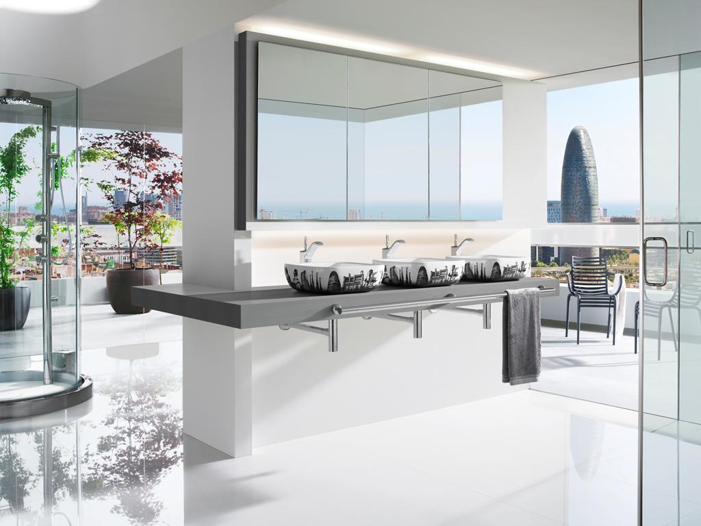 interiores Arquitetura e Estilo pessoal: Projeto do banheiro moderno #3E6C37 1024 768