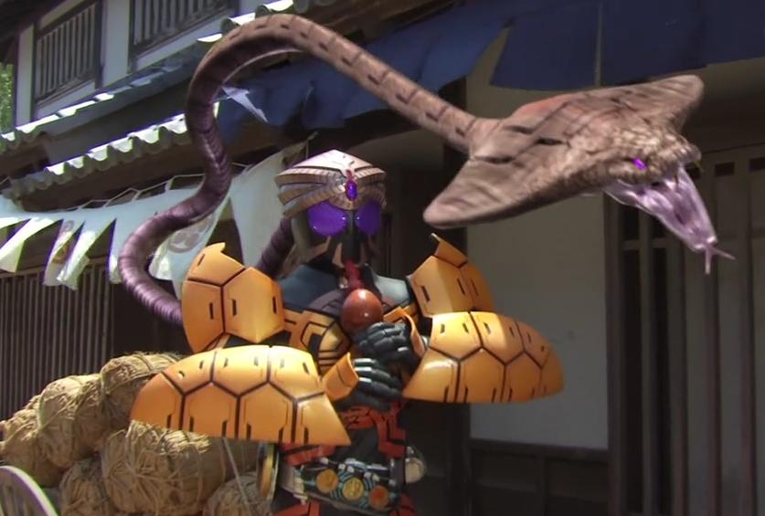 Kamen Rider OOO Episode 47 SummaryKamen Rider Ooo Burakawani Logo