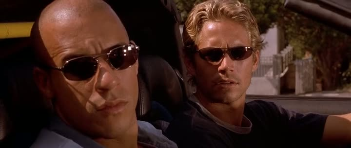 Screen Shot Of The Fast and the Furious (2001) Dual Audio Movie 300MB small Size PC Movie