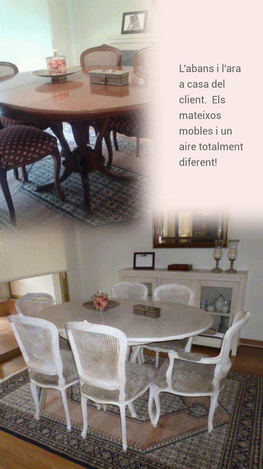 Candini muebles pintados nuevos y redecorados decapar for Muebles antiguos barcelona