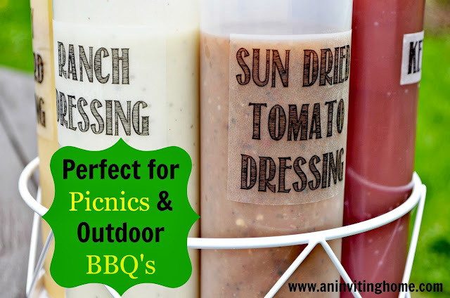 Perfect for picnics and outdoor bbq's
