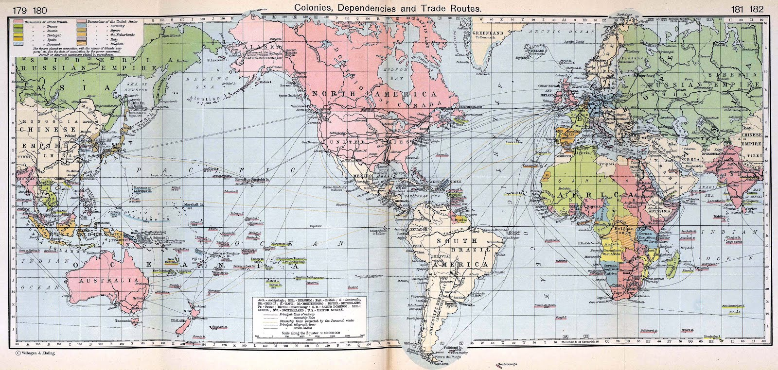 found on the map a map of the world was provided along with paper cut outs of the ss orteric