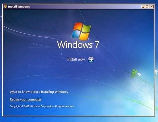 Cara Memperbaiki Windows 7