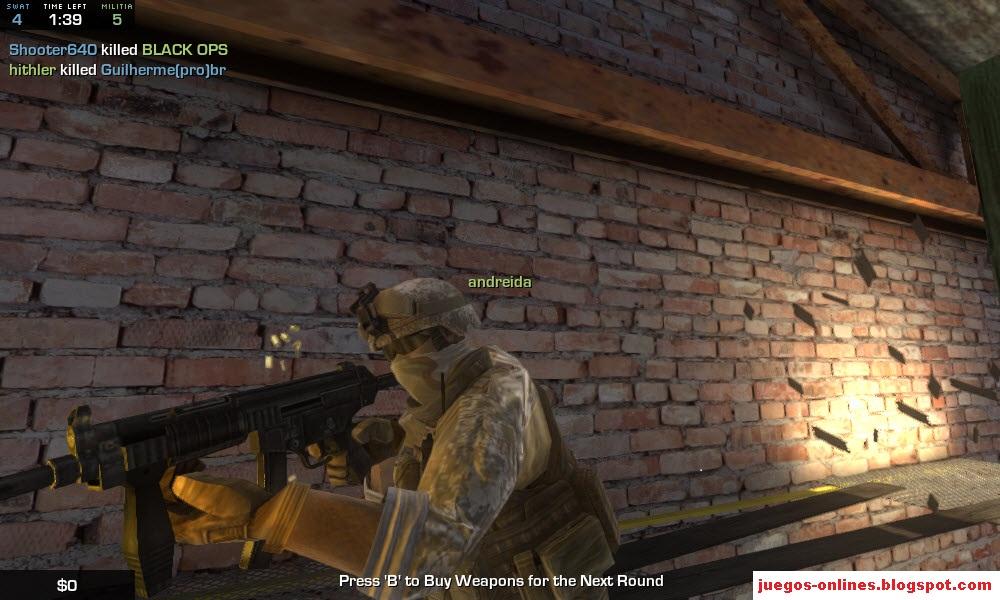 juegos online estilo counter: