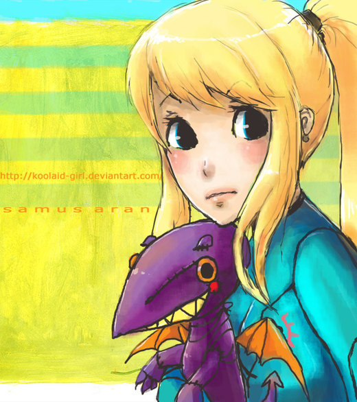 Day Off from Metroid Fighting por Koolaid-Girl