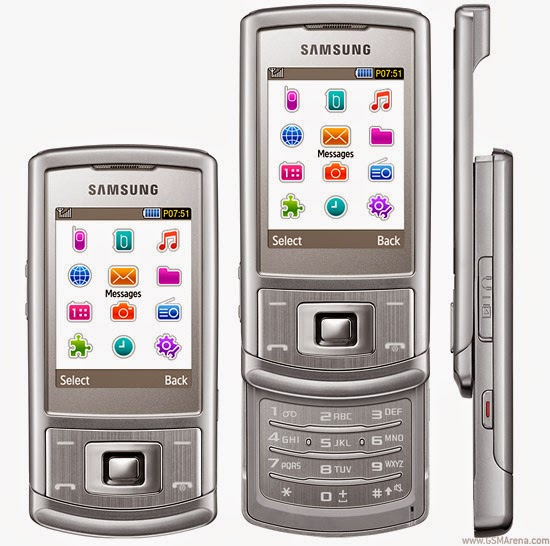 Samsung S3500 flash file download