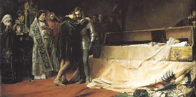 Francisco de Borja. Muerte de Isabel de POrtugal