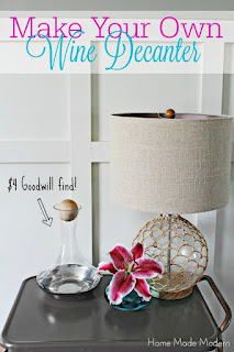 diy wine decanter