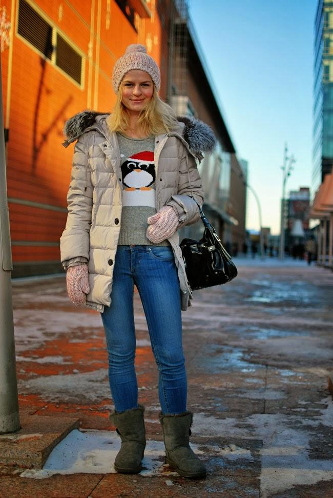 зимний лук, Ирина Павлова, рождественский свитер