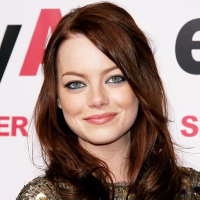 Emma Stone Auburn Hair Color Formula Comemma stone red hair color