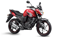 2013 Yamaha FZS Raging Red