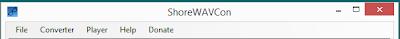 ShoreWAVCon v4.4 Released - Shoretel WAV Converter & Media Player Utility 1