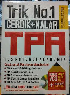 Buku Trik No.1 Cerdik + Nalar TPA