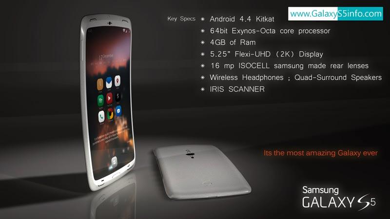 New Samsung Galaxy S5 Concept