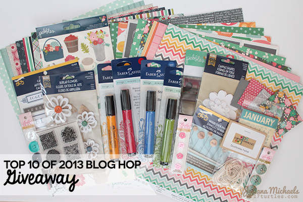 Top 10 of 2013 Blog Hop Giveaway by Juliana Michaels