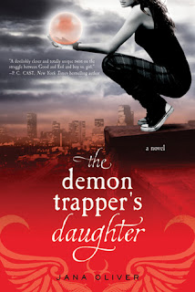 Review: The Demon Trapper's Daughter by Jana Oliver (The Demon Trappers #1)