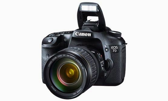 Harga Kamera DSLR Canon EOS 7D dan Spesifikasi Lengkap 2015