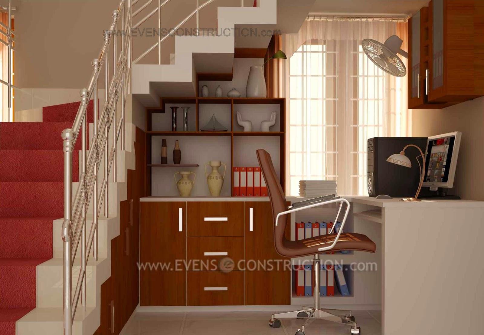Crockery Shelf Under Stairs