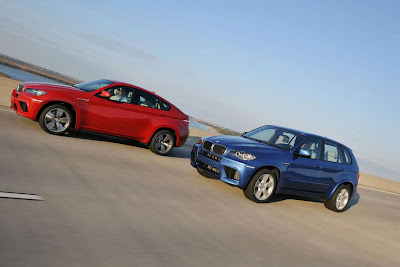 BMW X6 M, X5 M twins