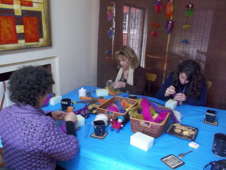 taller de hadas y pajaritos en Santiago, Chile