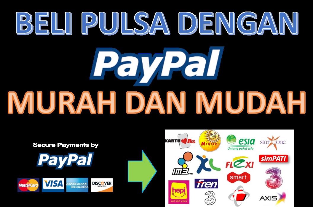 Beli Pulsa Dengan Paypal Isnan Nabawi