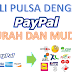 Beli Pulsa Dengan PayPal