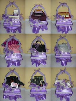 Gubahan Purple & Silver(22/5/11)