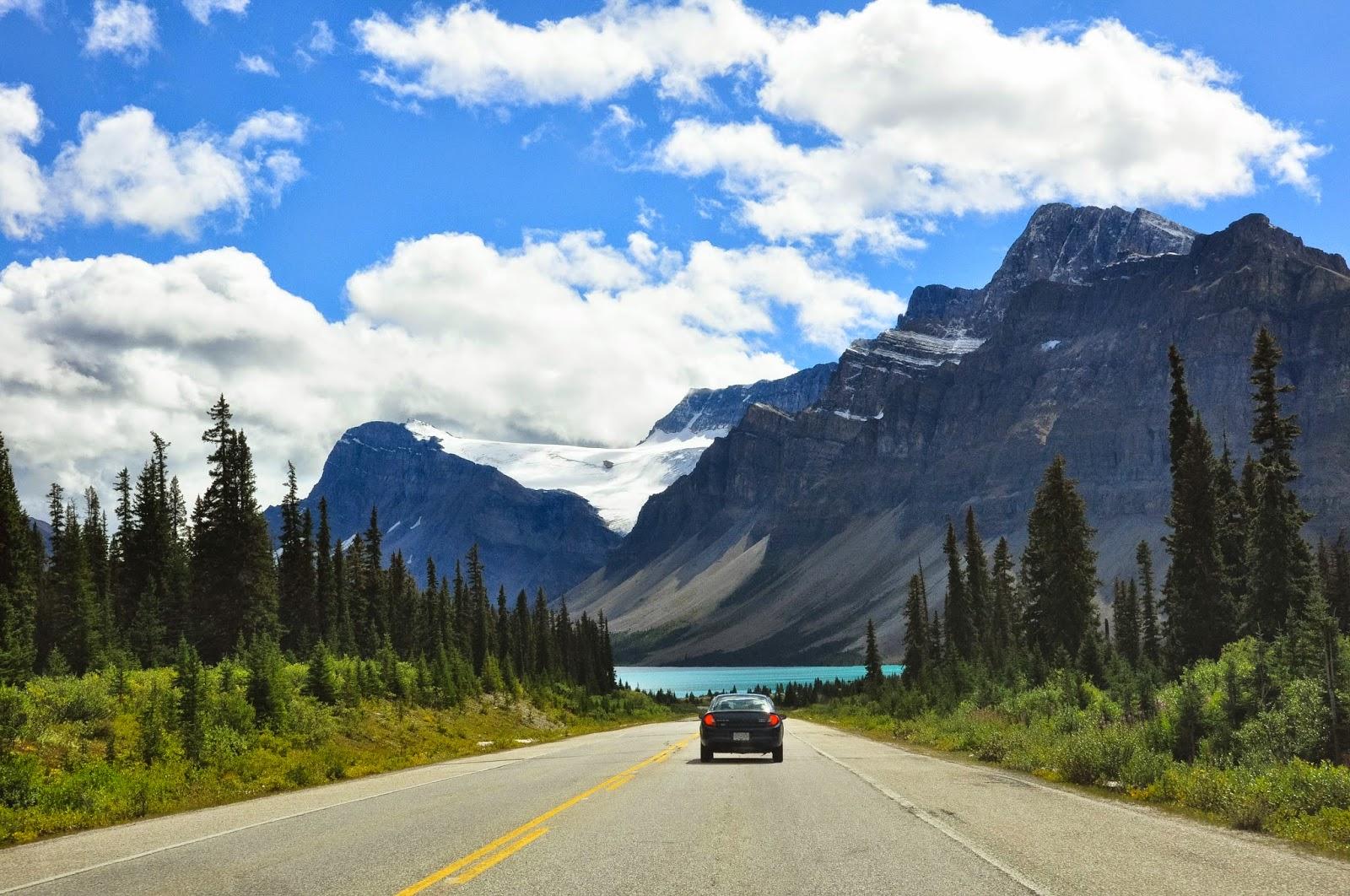 canada, alberta, canadian rockies, road trip