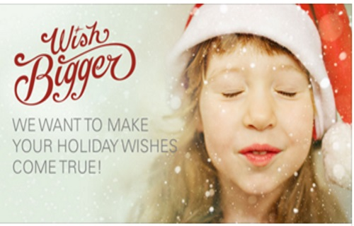 Ebay Wish Bigger Make Your Holiday Wishes Come True Contest