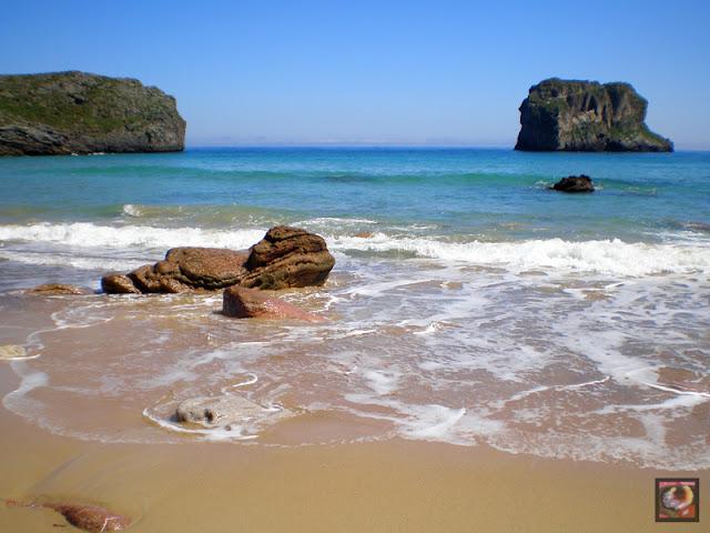 Playa la Ballota, Llanes, Asturias