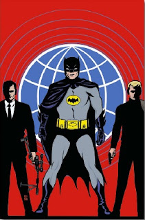 Cover of Batman '66 Meets The Man From U.N.C.L.E. #2 from DC Comics