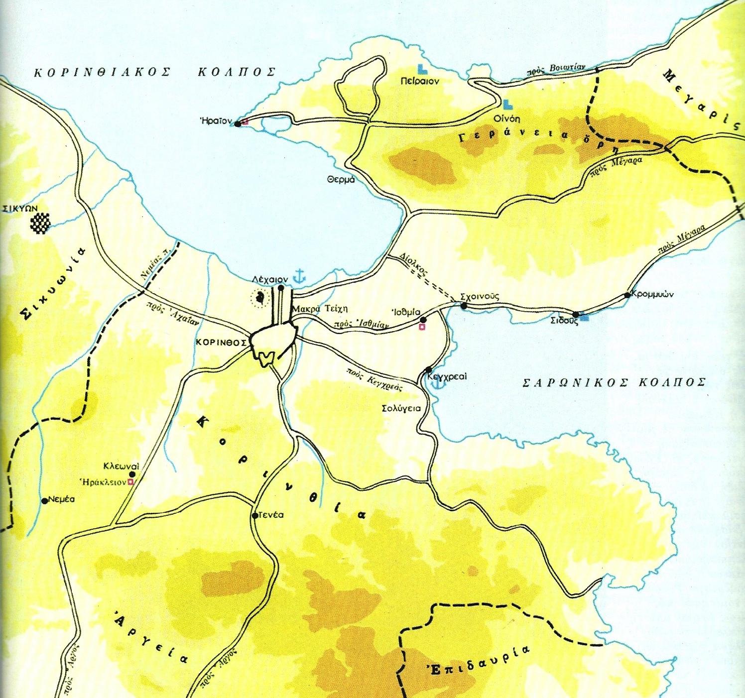 Μια από τις ωραιότερες φωτογραφίες από τους χάρτες της περιοχής του Λεχαίου στον Κορινθιακό Κόλπο