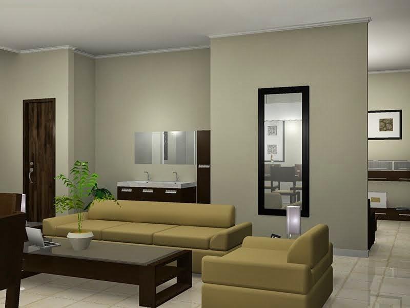 Hambar desain interior sederhana elegant