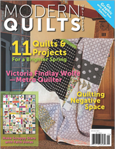 Cover QUILT Spring Issue!