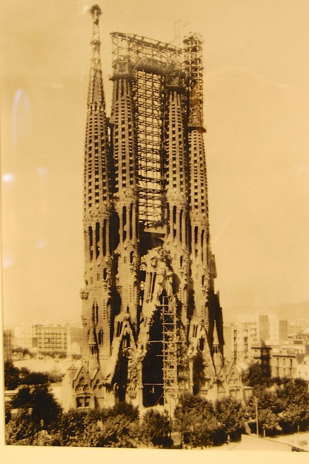 Nativity Facade in 1926