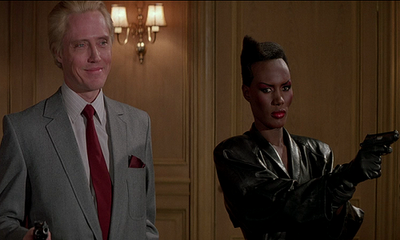christopher walken grace jones a view to a kill james bond 007