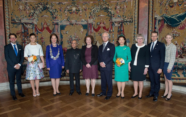 India's President Mukherjee's State Visit To Sweden, Day 2