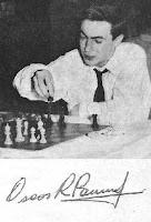 Oscar Roberto Panno ganador del II Campeonato Mundial Juvenil de Ajedrez (Copenhague, 1953)