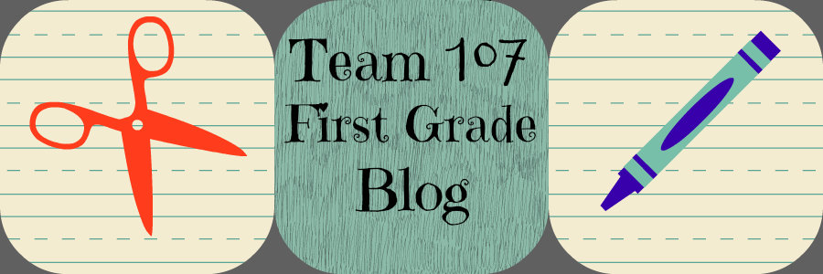 Team 107 First Grade Blog