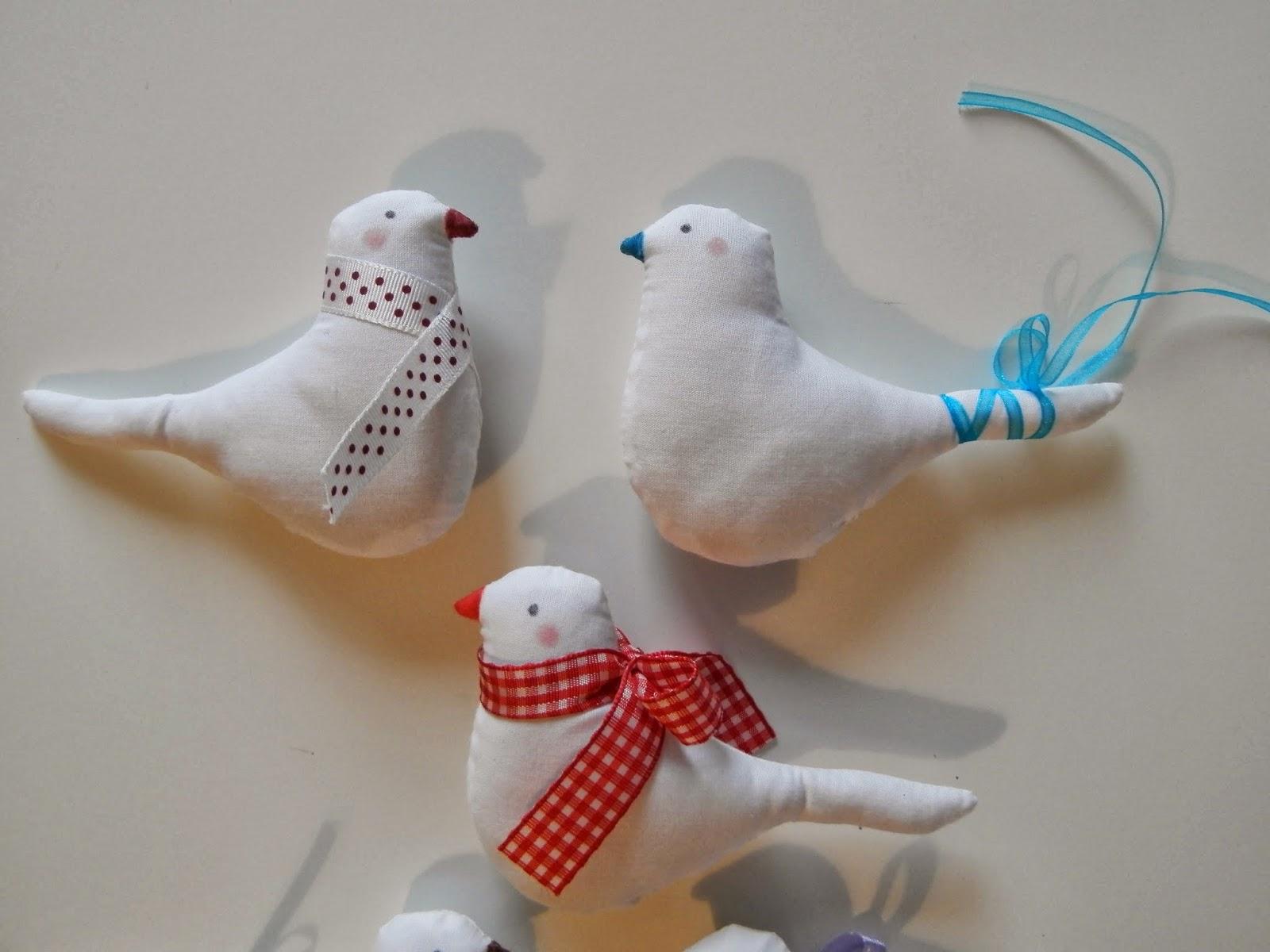 Coton et Création : oiseaux Tilda