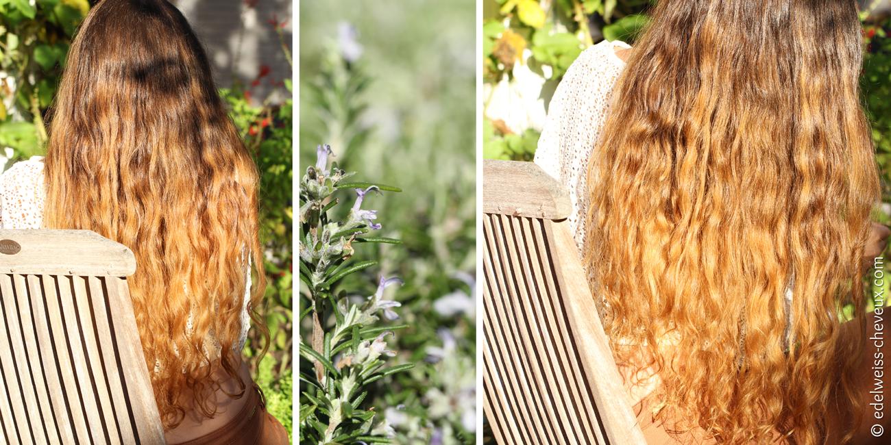 cheveux brillants miel naturel soins masque