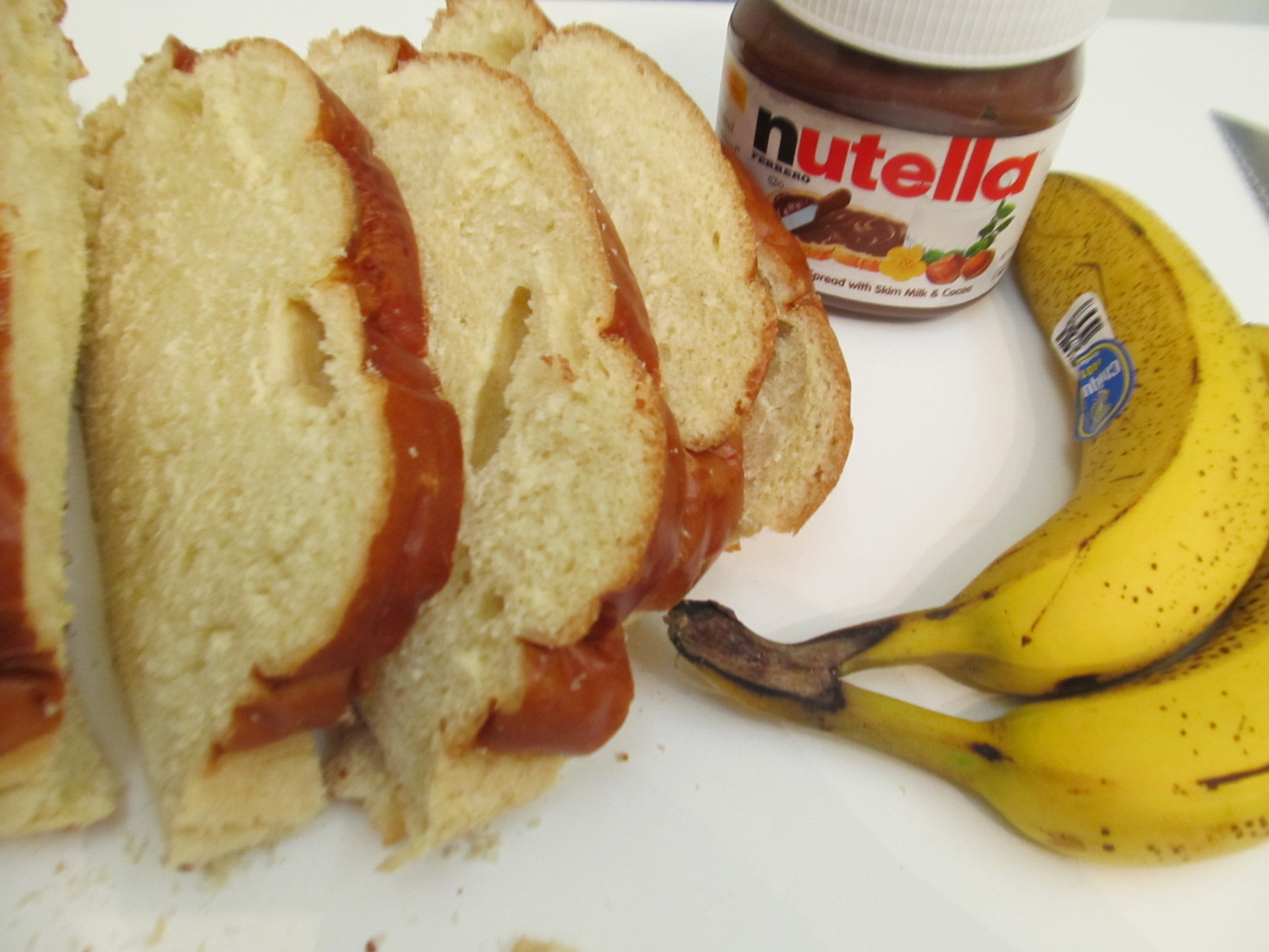 food and thrift  nutella and banana panini recipe by elisabeth